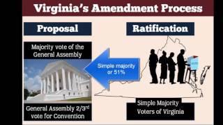 Constitutional Amendment Process - US & Virginia - Civics SOL