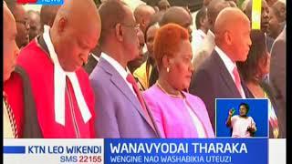 Baadhi ya viongozi Tharaka Nithi wadai kuchezwa katika uteuzi wa Baraza la Mawaziri
