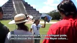 preview picture of video 'Tour CHICHEN ITZA - www.Cancun-Excursion.com'