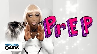 Let's Talk About PrEP: Bob The Drag Queen (0:30) | Virginia Greater Than AIDS