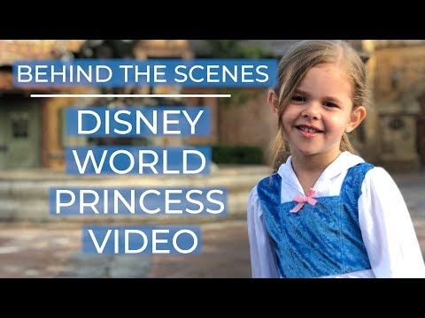 Singing Every Princess Song at Disney World - Behind The Scenes!!