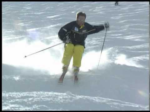Richard Berger Skiing Montage