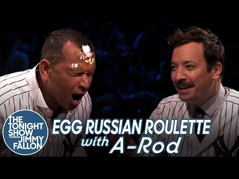 Egg Russian Roulette with Alex Rodriguez