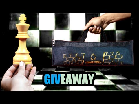 3.5 Inches Wooden Pieces And Chess Set