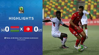 CAN U20 2021​ | 3ème place : Gambia 0 (4)-(2) 0 Tunisia