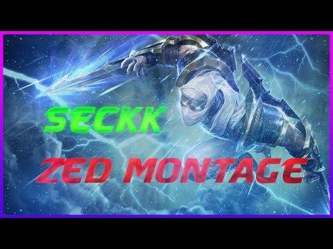 Seckk ZED MONTAGE - Best Mid Zed Plays -  ( League of Legends )