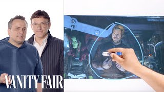 Infinity War's Directors Break Down the Thor and Guardians of the Galaxy Scene | Vanity Fair - Video Youtube