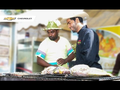 | How to make Swahili Charcoal Grilled Fish | Chef Ali Mandhry
