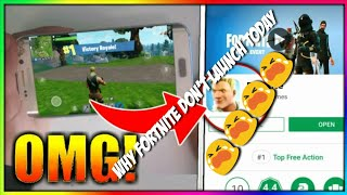 Why fortnite mobile Android don