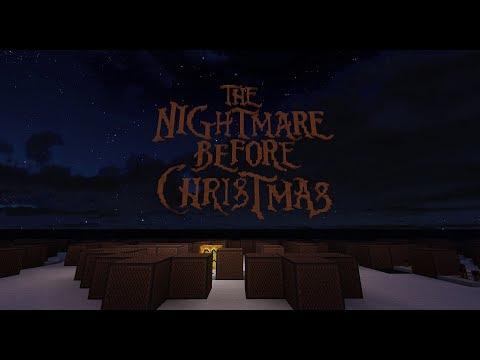 The Nightmare Before Christmas - Oogie Boogie's Song [Minecraft Noteblocks]