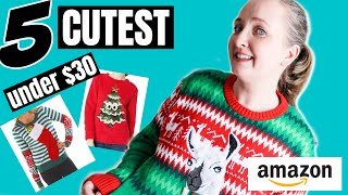 5 Ugly Christmas Sweaters You'll Be Excited To Wear (Try On & Review)
