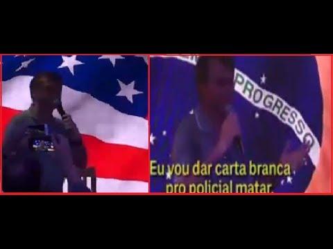 Bolsonaro Faz Campanha Nos Estados Unidos
