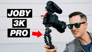 New Superstrong Vlogging Tripod! Joby GorillaPod 3K PRO