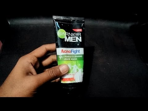 , title : 'garnier acno fight face wash review hindi | best for oily skin and acne ,pimples'