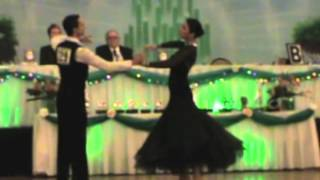 Olivia and Marko dancing to One Thousand Years.