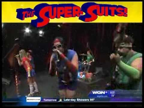 The Super-Suits LIVE on WGN Morning News