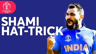 Mohammed Shami Hat-Trick To Win The Match! | ICC Cricket World Cup