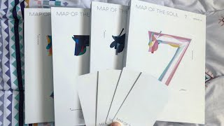 [UNBOXING] BTS MAP OF THE SOUL 7 / All Versions