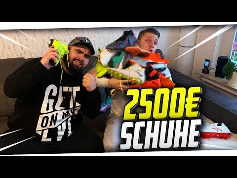 Neue FUßBALLSCHUHE im Wert von 2500€! Fußballschuhe Sammlung ft. Nike, Adidas, Puma & mehr! PMTV