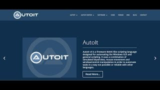AutoIt Scripting Tutorial 1 Download and install - Thủ thuật