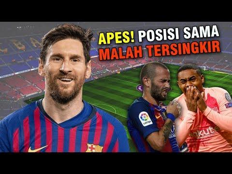 Posisinya Sama Seperti Messi? 6 Pemain Ini Malah Tersingkir Di Skuad Barcelona