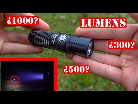 ¿Cuán Potente Es Esta Linterna? - Thrunite Neutron 2C V3 2017