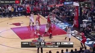 Cleveland Cavaliers vs Chicago Bulls   Full Game Highlights   April 9, 2016   NBA 2015 16 Season