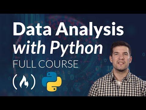 Data Analysis with Python - Full Course for Beginners (Numpy, Pandas, Matplotlib, Seaborn)