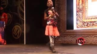 Emmanuela Yabs Julius Agwu on Stage