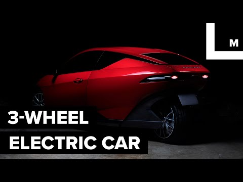 This Electric Car Has 3 Wheels And Costs $10,000