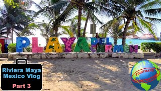 Riviera Maya, Mexico travel vlog Part 3! Playa del Carmen, Yucatan food, and Dance of the Flyers