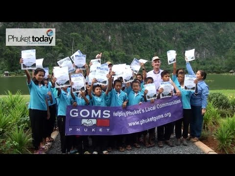 Phuket's GOMS help Good Shepherd kids have fun in Phang Nga