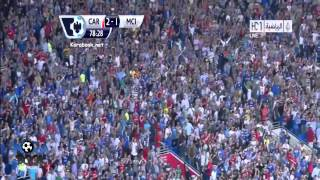 Manchester City Vs Cardiff City 2-3 (All Goals & Highlights) 25-8-13 2013 [HD 720p]