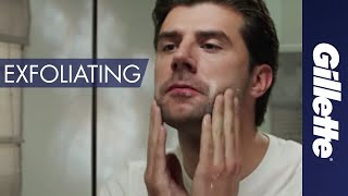 Men's Skin Care Tips: Exfoliate with a Facial Scrub | How to Shave