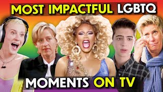 Adults React To The Most Impactful LGBTQ+ Moments In TV History
