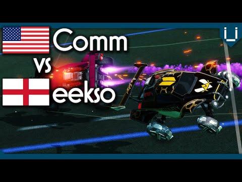 Comm vs eekso | Rocket League 1v1