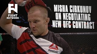 Misha Cirkunov on UFC Contract Negotiations: I Had Offers from Russia For