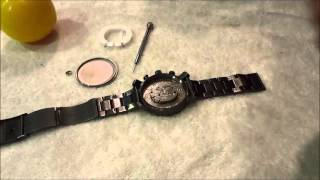 Changing The Battery In A Fossil Watch (DIY)