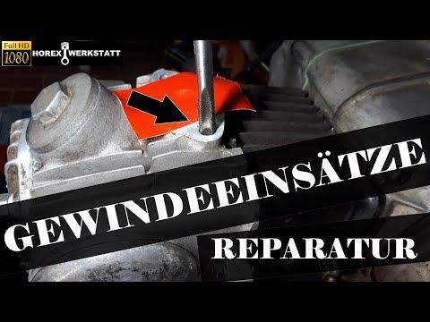 Gewinde Reparatur | Gewinde Reparieren | Gewindeeinsätze montieren | Honda Dax ST50