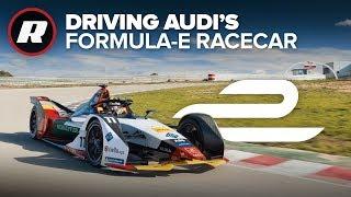 Driving Audi's 2019 Formula E car | Behind the wheel