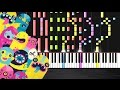 OMFG Hello IMPOSSIBLE PIANO by PlutaX