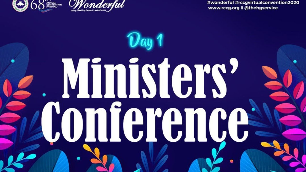 RCCG Workers And Ministers Conference 30th July 2020 - Day 1 with Pastor E. A. Adeboye