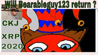 Will Bearableguy123 return? ...CKJ Crypto News