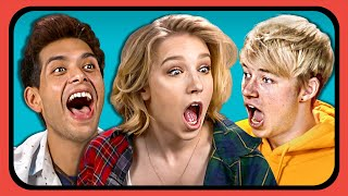 YouTubers React To 2019 Giant Oversized Clothes Trends