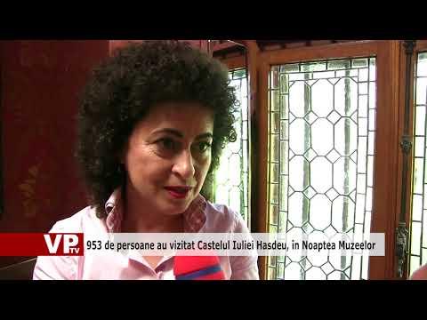 953 de persoane au vizitat Castelul Iuliei Hasdeu, în Noaptea Muzeelor