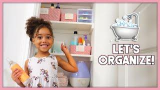 Organize With Me! | Kids Bathroom Ideas