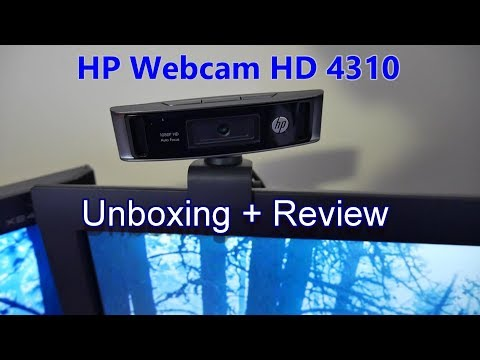 HP webcam HD 4310 Review and Unboxing