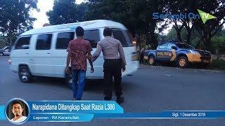Usai Berjalan Kaki Puluhan Kilometer, Narapidana Ditangkap saat Razia L300 di Kawasan Seulawah
