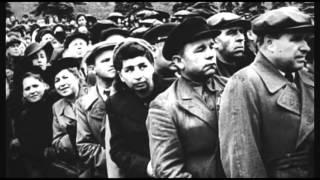 Марш сводных полков. Парад Победы 24 июня 1945 года