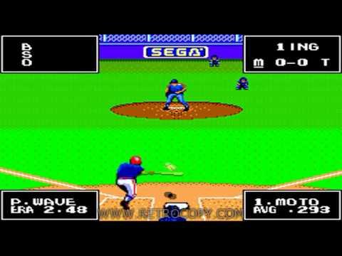 american baseball sega master system